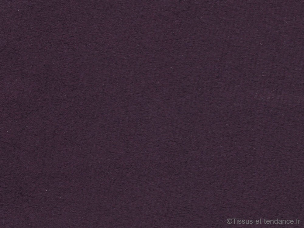 tissu microfibre sunsuede couleur aubergine tissus et. Black Bedroom Furniture Sets. Home Design Ideas
